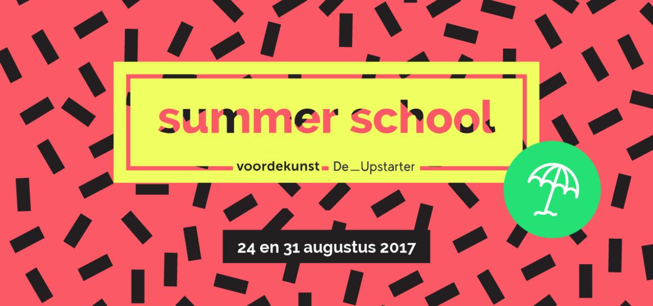 Summer School Storytelling met voordekunst & De Upstarter