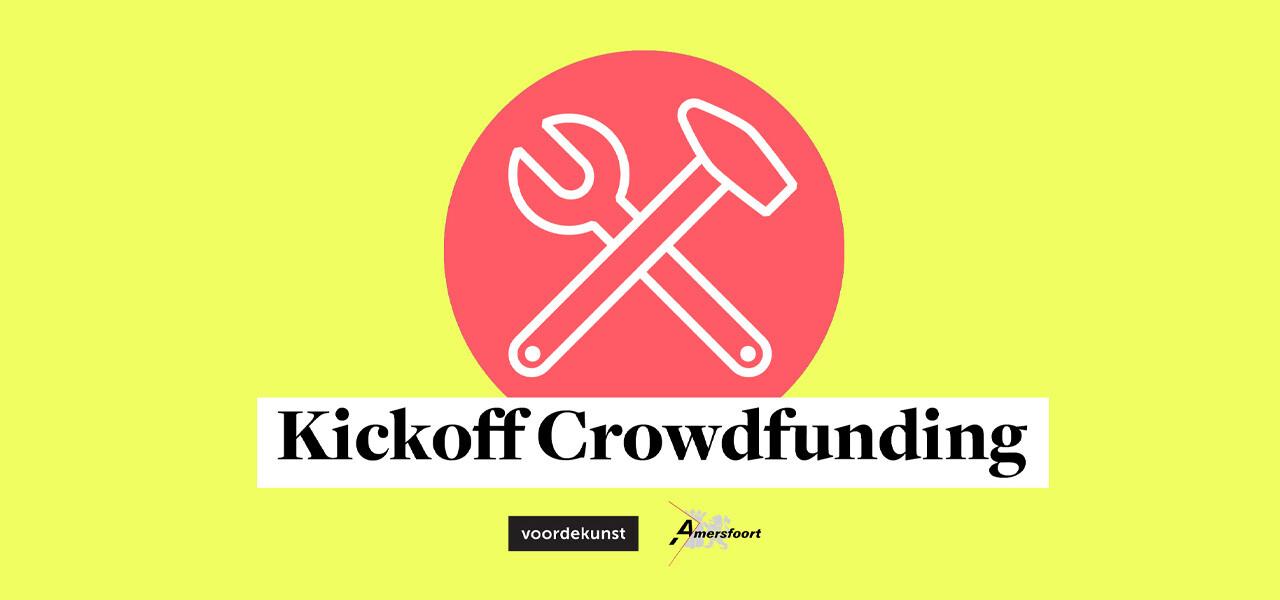 Kickoff crowdfunding in samenwerking met Gemeente Amersfoort