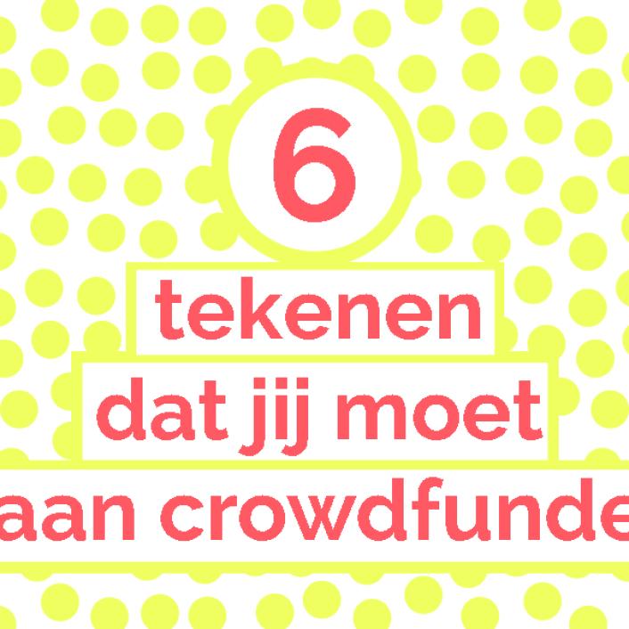 Is crowdfunding voor mij een goed idee? Een checklist voor makers