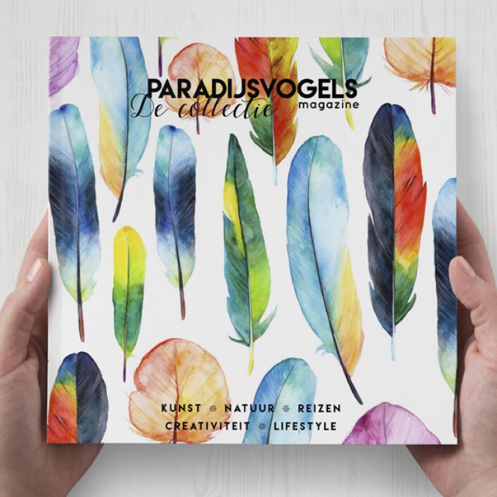 Voordekunst kiest: Paradijsvogels Magazine in een boek!