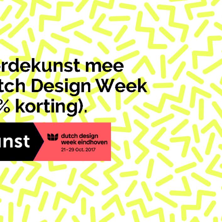 Waarom je met ons naar de Dutch Design Week moet