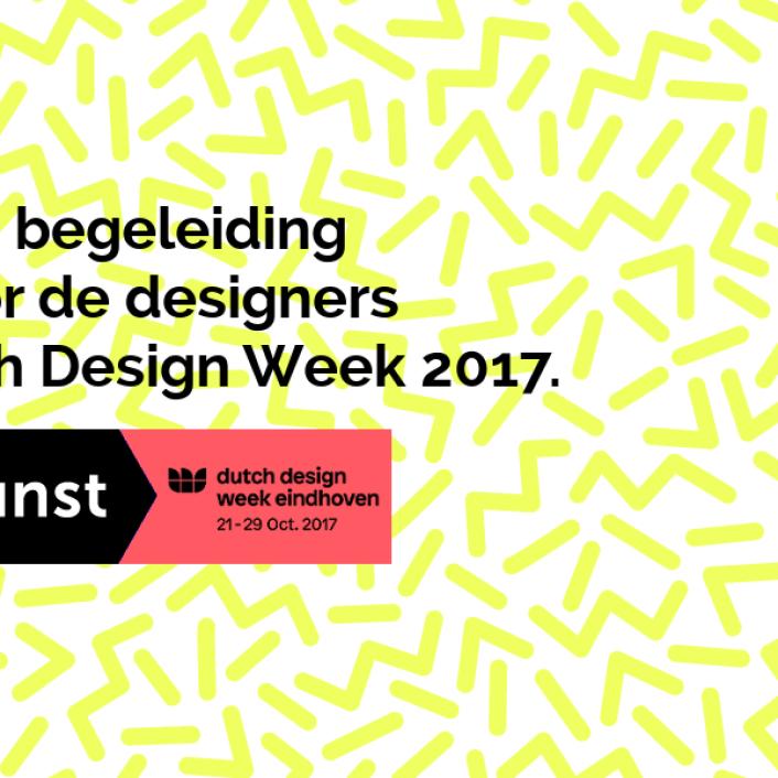 Sta jij op de Dutch Design Week 2017 en zoek je nog aanvullende financiering? Voordekunst helpt je verder!