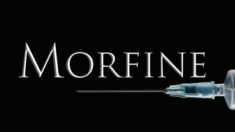 Afbeeldingsresultaat voor morfine