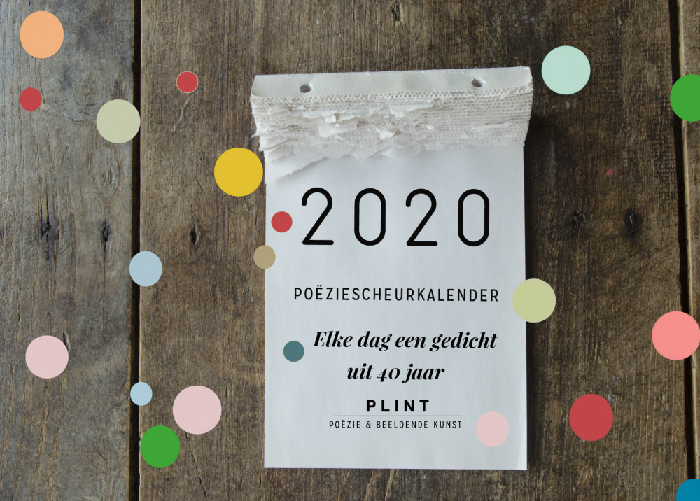 Plint Poëziescheurkalender Door Stichting Plint Voordekunst