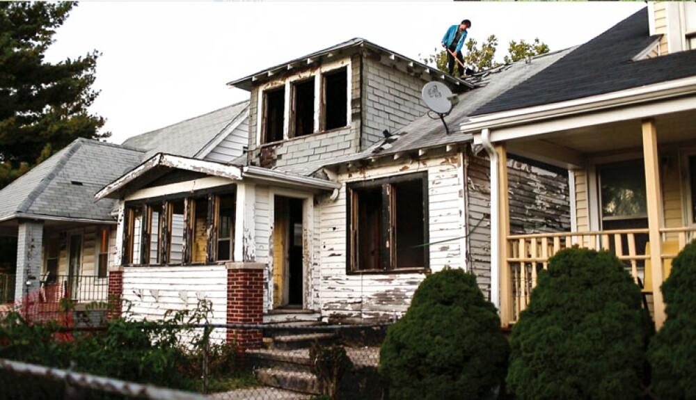 Ryan mendoza detroit huis op art rotterdam door art rotterdam voordekunst - Zie in het moderne huis ...