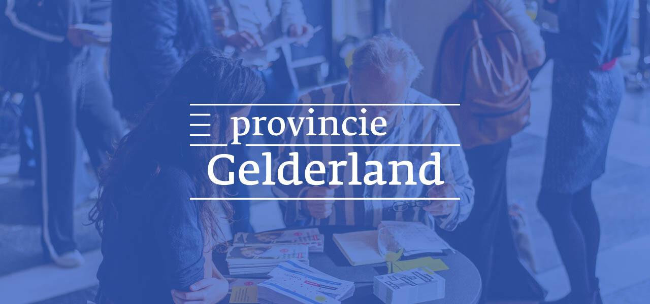 Provincie Gelderland zet samenwerking met voordekunst voort!
